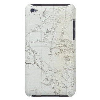 Map of Texas and part of New Mexico iPod Touch Cover