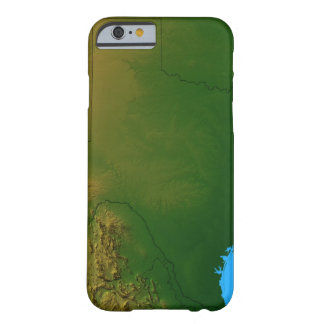 Map of Texas Barely There iPhone 6 Case