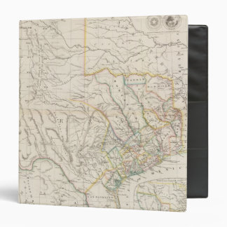 Map of Texas Binder