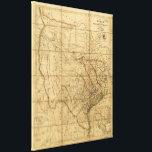 "Map of Texas by John Arrowsmith (1841) Canvas Print<br><div class=""desc"">Title     Map of Texas / Contributor Names     Arrowsmith,  John,  1790-1873.  Created / Published     London : John Arrowsmith,  1841.  Subject Headings     -  Texas--Maps      -  United States--Texas</div>"
