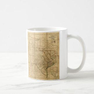 Map of Texas by John Arrowsmith (1841) Coffee Mug