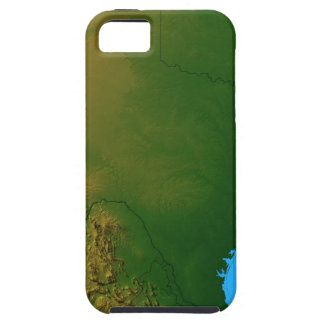 Map of Texas iPhone 5 Case