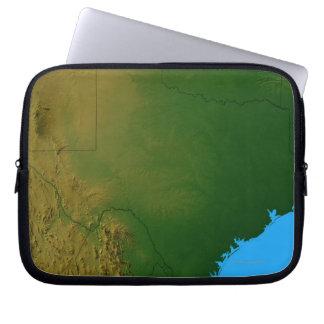 Map of Texas Laptop Sleeve