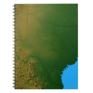 Map of Texas Notebook