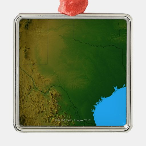 Map of Texas Ornament