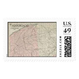 Map of the Adirondacks Postage