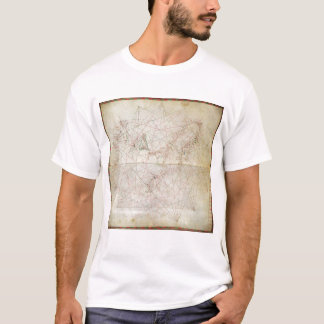 Map of the Adriatic Sea T-Shirt