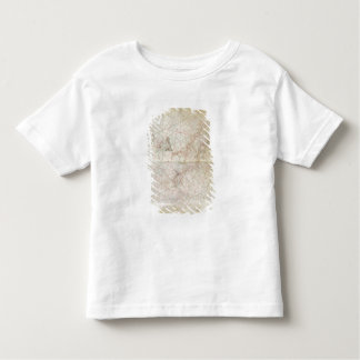 Map of the Adriatic Sea Toddler T-shirt