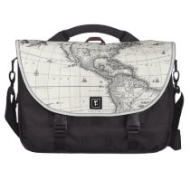 Map of The Americas 1669 Commuter Bag at Zazzle