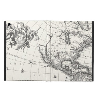 Map of The Americas 1669 iPad Air Case