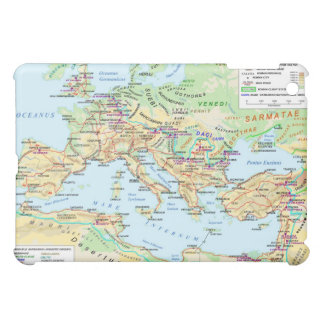 Map of the Ancient Roman Empire ipad Case