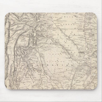 Map of the Argentine Confederation Mouse Pad
