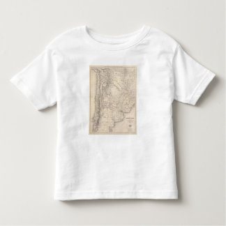 Map of the Argentine Confederation Tee Shirt