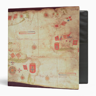 Map of the Atlantic Ocean, c.1550 Vinyl Binders
