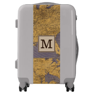 Map of the Atlantic States | Monogram Luggage