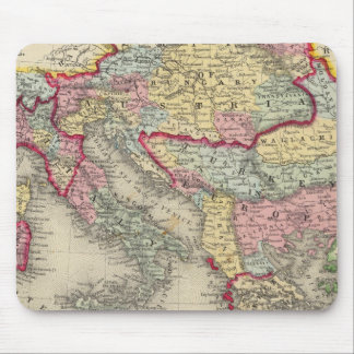 Map Of The Austrian Empire Mouse Pad