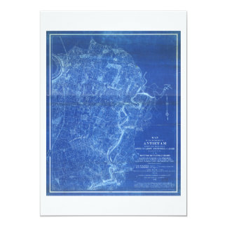 Map of the Battlefield of Antietam (1898) Card
