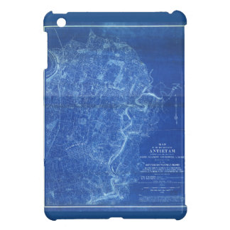 Map of the Battlefield of Antietam (1898) Cover For The iPad Mini