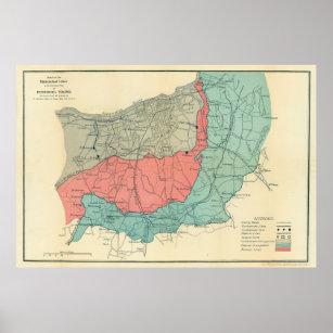 Richmond Virginia Civil War Map Posters Photo Prints Zazzle