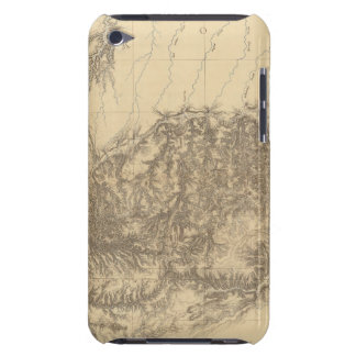 Map of the Black Hills of Dakota iPod Touch Case
