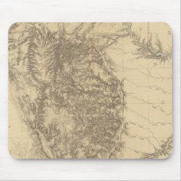 Map of the Black Hills of Dakota Mouse Pad