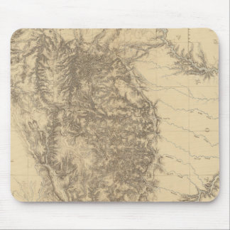 Map of the Black Hills of Dakota Mouse Pad