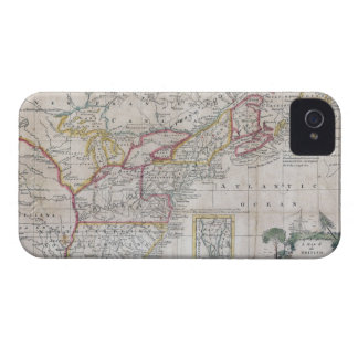 Map of the British Dominions in 1763 Blackberry Case
