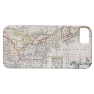 Map of the British Dominions in 1763 iPhone 5 Cover