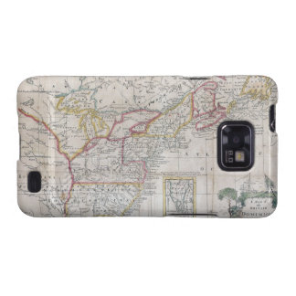 Map of the British Dominions in 1763 Galaxy SII Cases