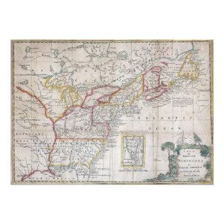 Map of the British Dominions in 1763 Invitation