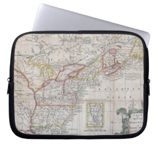 Map of the British Dominions in 1763 Laptop Computer Sleeve