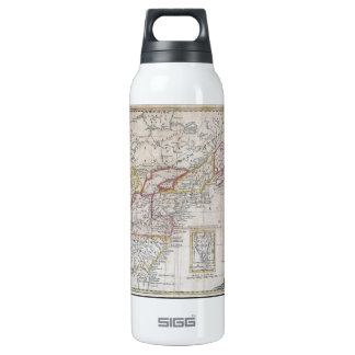 Map of the British Dominions in 1763 Thermos Water Bottle