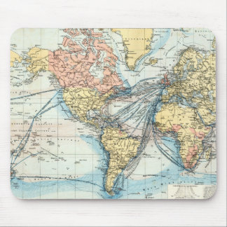 Map of the British Empire Mouse Pad