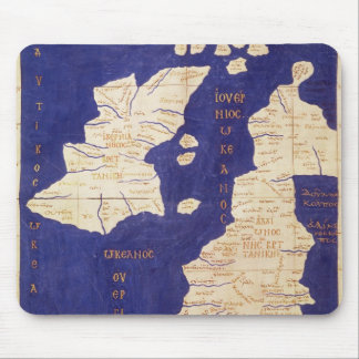 Map of the British Isles, from 'Geographia' Mouse Pad