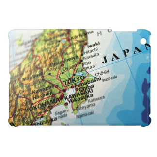 Map of the Capital city of Japan, Tokyo iPad Mini Cover