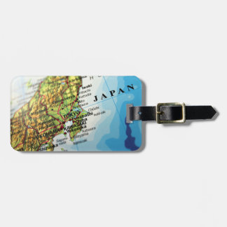 Map of the Capital city of Japan, Tokyo Luggage Tag