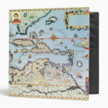 Map of the Caribbean islands Binders