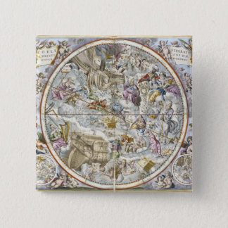 Map of the Christian Constellations as Depicted by Button