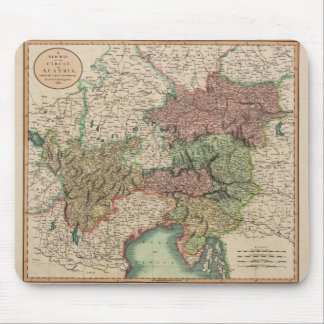 Map of the Circle of Austria in 1801 by John Cary Mouse Pad