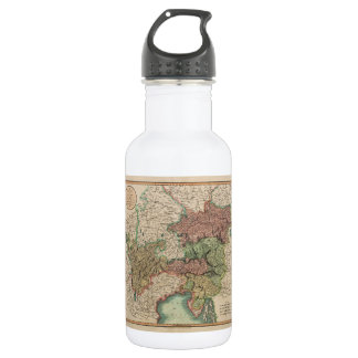 Map of the Circle of Austria in 1801 by John Cary Water Bottle