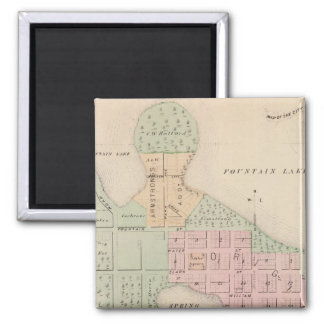 Map of the City of Albert Lea, Minnesota Magnet