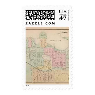Map of the City of Albert Lea, Minnesota Postage