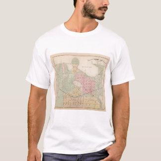 Map of the City of Albert Lea, Minnesota T-Shirt