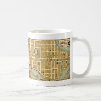 Map of the City of Beaufort South Carolina (1860) Coffee Mug