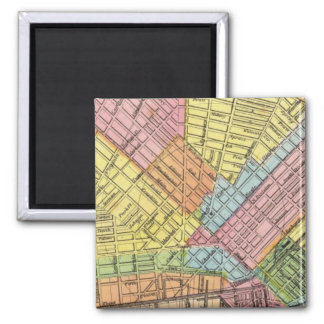 Map of The City of Buffalo 2 Inch Square Magnet