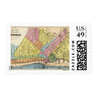 Map of The City of Buffalo Postage