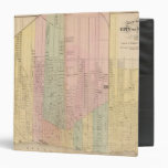 Map of the City of Detroit 3 Ring Binder