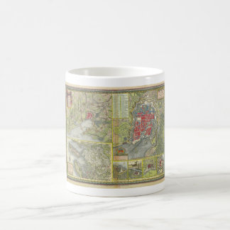 Map of the city of La Rochelle & Aunis France 1773 Coffee Mugs