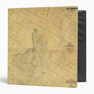 Map Of The City Of Los Angeles 3 Ring Binder