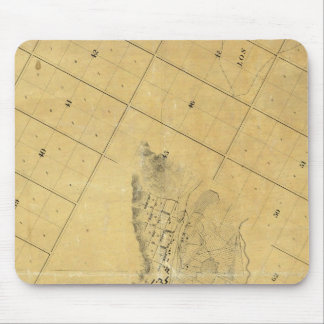 Map Of The City Of Los Angeles Mouse Pad